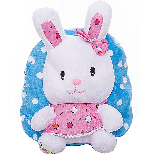 Рюкзак  Vitacci для девочкиАксессуары<br>Характеристики товара:<br><br>• цвет: голубой<br>• материал: текстиль;<br>• особенности: с игрушкой;<br>• застежка: молния;<br>• количество отделений: 1;<br>• игрушка не съемная;<br>• объем: 0,02 л;<br>• вес: 100 гр;<br>• размер: 24х10х25 см;<br>• страна бренда: Италия;<br>• страна производства: Китай.<br><br>Рюкзак с игрушкой в виде зайки. Рюкзак застегивается на молнию, внутри одно отделение. Игрушка пришита к рюкзаку. Рюкзак очень легкий.<br><br>Рюкзак Vitacci (Витачи) можно купить в нашем интернет-магазине.<br>Ширина мм: 170; Глубина мм: 157; Высота мм: 67; Вес г: 117; Цвет: голубой; Возраст от месяцев: 48; Возраст до месяцев: 144; Пол: Женский; Возраст: Детский; Размер: one size; SKU: 6926954;