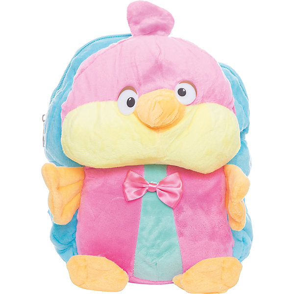 Рюкзак  Vitacci для девочкиДетские сумки<br>Характеристики товара:<br><br>• цвет: голубой;<br>• материал: текстиль;<br>• особенности: с игрушкой;<br>• застежка: молния;<br>• количество отделений: 1;<br>• игрушка не съемная;<br>• плечевые лямки регулируются по длине;<br>• объем: 0,02 л;<br>• вес: 200 гр;<br>• размер: 24х10х25 см;<br>• страна бренда: Италия;<br>• страна производства: Китай.<br><br>Рюкзак с игрушкой в виде птички. Рюкзак застегивается на молнию, внутри одно отделение. Игрушка пришита к рюкзаку. Плечевые лямки регулируются. Рюкзак очень легкий.<br><br>Рюкзак Vitacci (Витачи) можно купить в нашем интернет-магазине.<br>Ширина мм: 170; Глубина мм: 157; Высота мм: 67; Вес г: 117; Цвет: голубой; Возраст от месяцев: 48; Возраст до месяцев: 144; Пол: Женский; Возраст: Детский; Размер: one size; SKU: 6926958;