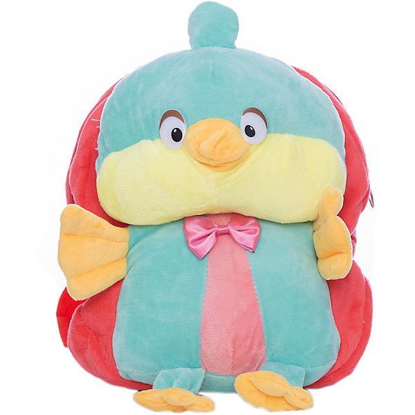 Рюкзак  Vitacci для девочкиДетские сумки<br>Характеристики товара:<br><br>• цвет: красный;<br>• материал: текстиль;<br>• особенности: с игрушкой;<br>• застежка: молния;<br>• количество отделений: 1;<br>• игрушка не съемная;<br>• плечевые лямки регулируются по длине;<br>• объем: 0,02 л;<br>• вес: 200 гр;<br>• размер: 24х10х25 см;<br>• страна бренда: Италия;<br>• страна производства: Китай.<br><br>Рюкзак с игрушкой в виде птички. Рюкзак застегивается на молнию, внутри одно отделение. Игрушка пришита к рюкзаку. Плечевые лямки регулируются. Рюкзак очень легкий.<br><br>Рюкзак Vitacci (Витачи) можно купить в нашем интернет-магазине.<br><br>Ширина мм: 170<br>Глубина мм: 157<br>Высота мм: 67<br>Вес г: 117<br>Цвет: розовый<br>Возраст от месяцев: 48<br>Возраст до месяцев: 144<br>Пол: Женский<br>Возраст: Детский<br>Размер: one size<br>SKU: 6926966