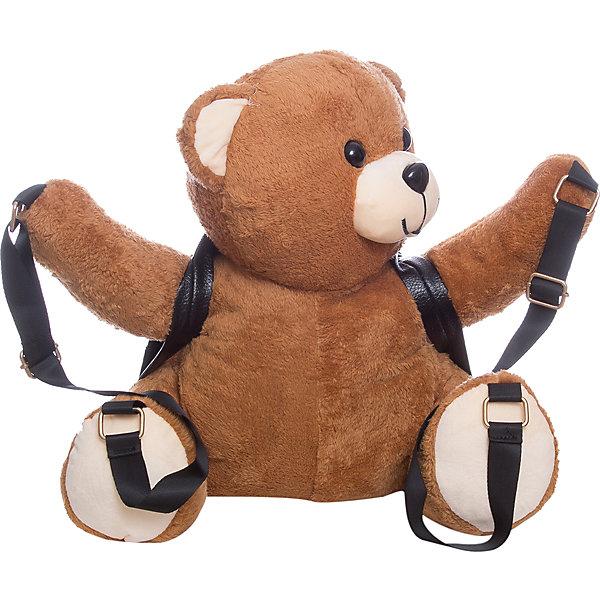 Рюкзак  Vitacci для девочкиДетские сумки<br>Характеристики товара:<br><br>• цвет: желтый;<br>• материал: текстиль, искусственная кожа;<br>• особенности: с игрушкой;<br>• застежка: молния;<br>• количество отделений: 1;<br>• внешний карман на молнии;<br>• игрушка не снимается;<br>• плечевые лямки регулируются;<br>• вес: 200 гр;<br>• размер: 34х10х22 см;<br>• страна бренда: Италия;<br>• страна производства: Китай.<br><br>Детский рюкзак мягкой игрушкой в виде плюшевого медведя. Игрушка не снимается. Рюкзак застегивается на молнию, имеется внешний карман на молнии. Плечевые ремни регулируются.<br><br>Рюкзак Vitacci (Витачи) можно купить в нашем интернет-магазине.<br><br>Ширина мм: 170<br>Глубина мм: 157<br>Высота мм: 67<br>Вес г: 117<br>Цвет: коричневый<br>Возраст от месяцев: 48<br>Возраст до месяцев: 144<br>Пол: Женский<br>Возраст: Детский<br>Размер: one size<br>SKU: 6926992