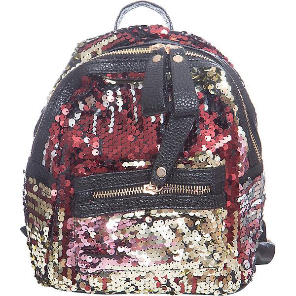 Рюкзак  Vitacci для девочкиАксессуары<br>Характеристики товара:<br><br>• цвет: фиолетовый;<br>• материал: текстиль;<br>• особенности: с пайетками;<br>• застежка: молния;<br>• количество отделений: 1;<br>• внешний карман на молнии;<br>• внутренний карман на молнии;<br>• два боковых кармана без застежки;<br>• плечевые лямки регулируются;<br>• вес: 200 гр;<br>• размер: 22х11х20 см;<br>• страна бренда: Италия;<br>• страна производства: Китай.<br><br>Детский рюкзак с пайетками. Рюкзак для девочки застегивается на молнию, имеется внутренний карман на молнии, внешний карман на молнии и два боковых кармана без застежки. Плечевые ремни регулируются.<br><br>Рюкзак Vitacci (Витачи) можно купить в нашем интернет-магазине.<br><br>Ширина мм: 170<br>Глубина мм: 157<br>Высота мм: 67<br>Вес г: 117<br>Цвет: лиловый<br>Возраст от месяцев: 48<br>Возраст до месяцев: 144<br>Пол: Женский<br>Возраст: Детский<br>Размер: one size<br>SKU: 6926994