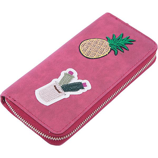Кошелек  Vitacci для девочкиАксессуары<br>Характеристики товара:<br><br>• цвет: бордовый;<br>• материал: искусственная кожа;<br>• подкладка: текстиль;<br>• особенности: с аппликацией, кожаный;<br>• застежка: молния;<br>• количество отделений: 4;<br>• отделения; для карточек, для купюр, для монет;<br>• отделение для монет на молнии;<br>• вес: 100 гр;<br>• размер: 10х1х19 см;<br>• страна бренда: Италия;<br>• страна производства: Китай.<br><br>Кошелек на молнии. Внутри 4 отделения, всего 13 отделений, включая отсеки для карточек. Карман для мелочи на молнии. Кошелек декорирован аплликациями.<br><br>Кошелек Vitacci (Витачи) можно купить в нашем интернет-магазине.<br>Ширина мм: 170; Глубина мм: 157; Высота мм: 67; Вес г: 117; Цвет: бордовый; Возраст от месяцев: 48; Возраст до месяцев: 144; Пол: Женский; Возраст: Детский; Размер: one size; SKU: 6927056;