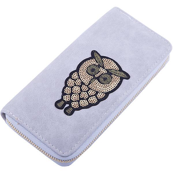 Кошелек  Vitacci для девочкиАксессуары<br>Характеристики товара:<br><br>• цвет: серый;<br>• материал: искусственная кожа;<br>• подкладка: текстиль;<br>• особенности: с аппликацией, кожаный;<br>• застежка: молния;<br>• количество отделений: 4;<br>• отделения; для карточек, для купюр, для монет;<br>• отделение для монет на молнии;<br>• вес: 100 гр;<br>• размер: 10х1х19 см;<br>• страна бренда: Италия;<br>• страна производства: Китай.<br><br>Кошелек на молнии. Внутри 4 отделения, всего 13 отделений, включая отсеки для карточек. Карман для мелочи на молнии. Кошелек декорирован аплликациями.<br><br>Кошелек Vitacci (Витачи) можно купить в нашем интернет-магазине.<br><br>Ширина мм: 170<br>Глубина мм: 157<br>Высота мм: 67<br>Вес г: 117<br>Цвет: серый<br>Возраст от месяцев: 48<br>Возраст до месяцев: 144<br>Пол: Женский<br>Возраст: Детский<br>Размер: one size<br>SKU: 6927064