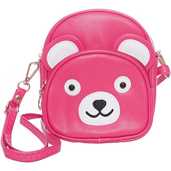 Сумка для девочки VitacciДетские сумки<br>Характеристики товара:<br><br>• цвет: розовый;<br>• материал: искусственная кожа;<br>• особенности: кожаная;<br>• застежка: молния;<br>• количество отделений: 1;<br>• внешний карман на молнии;<br>• сумка на плечо;<br>• ремешок в комплекте;<br>• вес: 100 гр;<br>• размер: 19х6х19 см;<br>• страна бренда: Италия;<br>• страна производства: Китай.<br><br>Сумка на плечо для девочки. Сумка застегивается на клапан с замочком, ремешок в виде цепочки. Внутри одно отделение и карман на молнии. Спереди сумка декорирована декоративными ушками и личиком панды.<br><br>Сумку на плечо Vitacci (Витачи) можно купить в нашем интернет-магазине.<br><br>Ширина мм: 170<br>Глубина мм: 157<br>Высота мм: 67<br>Вес г: 117<br>Цвет: розовый<br>Возраст от месяцев: 48<br>Возраст до месяцев: 144<br>Пол: Женский<br>Возраст: Детский<br>Размер: one size<br>SKU: 6927104