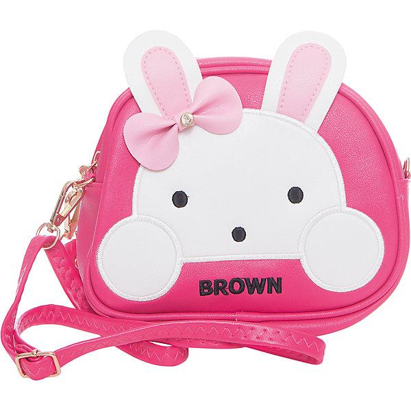 Сумка для девочки VitacciДетские сумки<br>Характеристики товара:<br><br>• цвет: розовый;<br>• материал: искусственная кожа;<br>• особенности: кожаная;<br>• застежка: молния;<br>• количество отделений: 1;<br>• внутренний карман на молнии;<br>• сумка на плечо;<br>• ремешок в комплекте;<br>• вес: 100 гр;<br>• размер: 18х6х16 см;<br>• страна бренда: Италия;<br>• страна производства: Китай.<br><br>Сумка на плечо для девочки. Сумка застегивается на молнию, ремешок в комплекте. Внутри одно отделение и карман на молнии. Спереди сумка декорирована декоративными ушками и личиком зайки.<br><br>Сумку на плечо Vitacci (Витачи) можно купить в нашем интернет-магазине.<br><br>Ширина мм: 170<br>Глубина мм: 157<br>Высота мм: 67<br>Вес г: 117<br>Цвет: розовый<br>Возраст от месяцев: 48<br>Возраст до месяцев: 144<br>Пол: Женский<br>Возраст: Детский<br>Размер: one size<br>SKU: 6927106