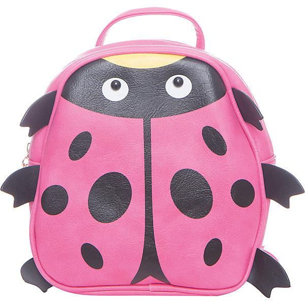 Рюкзак для девочки VitacciРюкзаки<br>Характеристики товара:<br><br>• цвет: розовый;<br>• материал: искусственная кожа;<br>• особенности: кожаный, с рисунком;<br>• застежка: молния;<br>• количество отделений: 1;<br>• внутренний карман на молнии;<br>• плечевые лямки регулируются по длине;<br>• вес: 200 гр;<br>• размер: 21х7х21 см;<br>• страна бренда: Италия;<br>• страна производства: Китай.<br><br>Рюкзак для девочки застегивается на молнию. Внутри одно отделение и карман на молнии. Плечевые ремни регулируются. Спереди рисунок в виде божьей коровки.<br><br>Рюкзак Vitacci (Витачи) можно купить в нашем интернет-магазине.<br>Ширина мм: 170; Глубина мм: 157; Высота мм: 67; Вес г: 117; Цвет: розовый; Возраст от месяцев: 48; Возраст до месяцев: 144; Пол: Женский; Возраст: Детский; Размер: one size; SKU: 6927114;