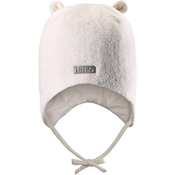 Флисовая шапка LassieШапки и шарфы<br>Характеристики товара:<br><br>• цвет: белый;<br>• состав: 100% полиэстер;<br>• подкладка: 97% хлопок, 3% эластан;<br>• сезон: зима;<br>• температурный режим: от +5 до -20С;<br>• особенности: флисовая, на завязках;<br>• застежка: эластичные завязки;<br>• дышащий, теплый и быстросохнущий флис;<br>• сплошная подкладка: приятный на ощупь хлопковый трикотаж с эластаном;<br>• ветронепроницаемые вставки в области ушей;<br>• декоративные элементы в виде ушек наверху;<br>• светоотражающая эмблема спереди;<br>• страна бренда: Финляндия;<br>• страна изготовитель: Китай;<br><br>Эта мягкая и теплая флисовая шапка на завязках – превосходный аксессуар для холодных зимних деньков. Ветронепроницаемые вставки в области ушей обеспечивают дополнительную защиту, а мягкая подкладка из джерси очень приятна на ощупь. <br><br>Шапку Lassie (Ласси) можно купить в нашем интернет-магазине.<br><br>Ширина мм: 89<br>Глубина мм: 117<br>Высота мм: 44<br>Вес г: 155<br>Цвет: белый<br>Возраст от месяцев: 72<br>Возраст до месяцев: 144<br>Пол: Унисекс<br>Возраст: Детский<br>Размер: 50-52,46-48,54-56,44-46<br>SKU: 6927229