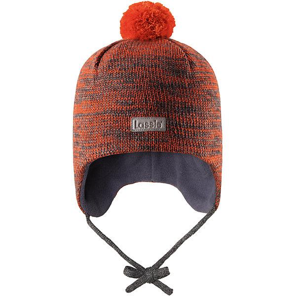 Шапка LassieШапки и шарфы<br>Характеристики товара:<br><br>• цвет: оранжевый;<br>• состав: 50% шерсть, 50% полиакрил;<br>• подкладка: 100% полиэстер, флис;<br>• сезон: зима;<br>• температурный режим: от +5 до -20С;<br>• особенности: на завязках, на флисовой подкладке, с помпоном;<br>• застежка: эластичные завязки;<br>• мягкая и теплая ткань из смеси шерсти;<br>• ветронепроницаемые вставки в области ушей;<br>• помпон сверху;<br>• сплошная подкладка: мягкий, теплый флис;<br>• интересная структура поверхности; <br>• светоотражающая эмблема спереди;<br>• страна бренда: Финляндия;<br>• страна изготовитель: Китай;<br><br>Шапка с помпоном, выполненная из смеси шерсти для холодных осенних и зимних дней. Оригинальная структурная вязка придает ей модный вид. Шапка на подкладке из флиса, ветронепроницаемые вставки в области ушей помогут защитить ушки от морозного ветра во время прогулок на свежем воздухе. Спереди имеется светоотражающая эмблема Lassie® и стильный помпон завершает образ!<br><br>Шапку Lassie (Ласси) можно купить в нашем интернет-магазине.<br>Ширина мм: 89; Глубина мм: 117; Высота мм: 44; Вес г: 155; Цвет: оранжевый; Возраст от месяцев: 9; Возраст до месяцев: 12; Пол: Унисекс; Возраст: Детский; Размер: 44-46,50-52,46-48; SKU: 6927251;