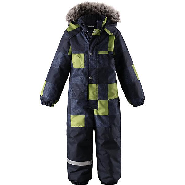 Комбинезон Lassie для мальчикаОдежда<br>Характеристики товара:<br><br>• цвет: серый/зеленый;<br>• состав: 100% полиэстер, полиуретановое покрытие;<br>• подкладка: 100% полиэстер;<br>• утеплитель: 180 г/м2;<br>• сезон: зима;<br>• температурный режим: от 0 до -20С;<br>• водонепроницаемость: 1000 мм;<br>• воздухопроницаемость: 1000мм;<br>• износостойкость: 50000 циклов (тест Мартиндейла)<br>• застежка: молния с дополнительной защитной планкой на кнопках;<br>• водоотталкивающий, ветронепроницаемый и дышащий материал;<br>• задний серединный шов проклеен;<br>• гладкая подкладка из полиэстера;<br>• безопасный съемный капюшон; <br>• съемный искусственный мех на капюшоне;<br>• эластичная талия, манжеты рукавов и низ штанин;<br>• съемные эластичные штрипки;<br>• боковые карманы на липучках;<br>• светоотражающие детали;<br>• страна бренда: Финляндия;<br>• страна изготовитель: Китай;<br><br>Зимний комбинезон на молнии изготовлен из сверхпрочного материала, поэтому совершенно незаменим для всех активных и отважных зимних героев! Съемный капюшон безопасен и практичен, а карманы на липучках сохранят ключи от дома в целости и сохранности! Светоотражающие элементы на рукавах и брючинах позволяют лучше разглядеть ребенка в темноте, а благодаря удобным штрипкам концы брючин не будут задираться, сколько бы ребенок ни бегал!<br><br>Комбинезон Lassie (Ласси) для мальчика можно купить в нашем интернет-магазине.<br>Ширина мм: 356; Глубина мм: 10; Высота мм: 245; Вес г: 519; Цвет: синий; Возраст от месяцев: 36; Возраст до месяцев: 48; Пол: Мужской; Возраст: Детский; Размер: 104,128,92,98,110,116,122; SKU: 6927407;