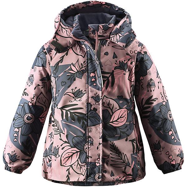 Куртка Lassie для девочкиОдежда<br>Характеристики товара:<br><br>• цвет: серый;<br>• состав: 100% полиэстер, полиуретановое покрытие;<br>• подкладка: 100% полиэстер;<br>• утеплитель: 180 г/м2;<br>• сезон: зима;<br>• температурный режим: от 0 до -20С;<br>• водонепроницаемость: 1000 мм;<br>• воздухопроницаемость: 1000 мм;<br>• износостойкость: 50000 циклов (тест Мартиндейла);<br>• застежка: молния с дополнительной защитной планкой;<br>• водоотталкивающий, ветронепроницаемый и дышащий материал;<br>• гладкая подкладка из полиэстера;<br>• безопасный съемный капюшон; <br>• эластичные манжеты рукавов; <br>• эластичная кромка подола;<br>• карманы в боковых швах;<br>• светоотражающие детали;<br>• страна бренда: Финляндия;<br>• страна изготовитель: Китай;<br><br>Зимняя куртка для девочек с цветочным рисунком. Куртка изготовлена из ветронепроницаемого, дышащего материала с верхним водо- и грязеотталкивающим слоем, поэтому вашему ребенку будет тепло и удобно во время веселых зимних прогулок. Эта куртка с подкладкой из гладкого полиэстера легко надевается, и ее очень удобно носить с теплым промежуточным слоем. Безопасный, отстегивающийся капюшон защищает от холодного ветра, а также безопасен во время игр на свежем воздухе. Модель для девочек.<br><br><br>Куртку Lassie (Ласси) для девочки можно купить в нашем интернет-магазине.<br>Ширина мм: 356; Глубина мм: 10; Высота мм: 245; Вес г: 519; Цвет: розовый; Возраст от месяцев: 18; Возраст до месяцев: 24; Пол: Женский; Возраст: Детский; Размер: 92,140,134,128,122,116,110,104,98; SKU: 6927471;
