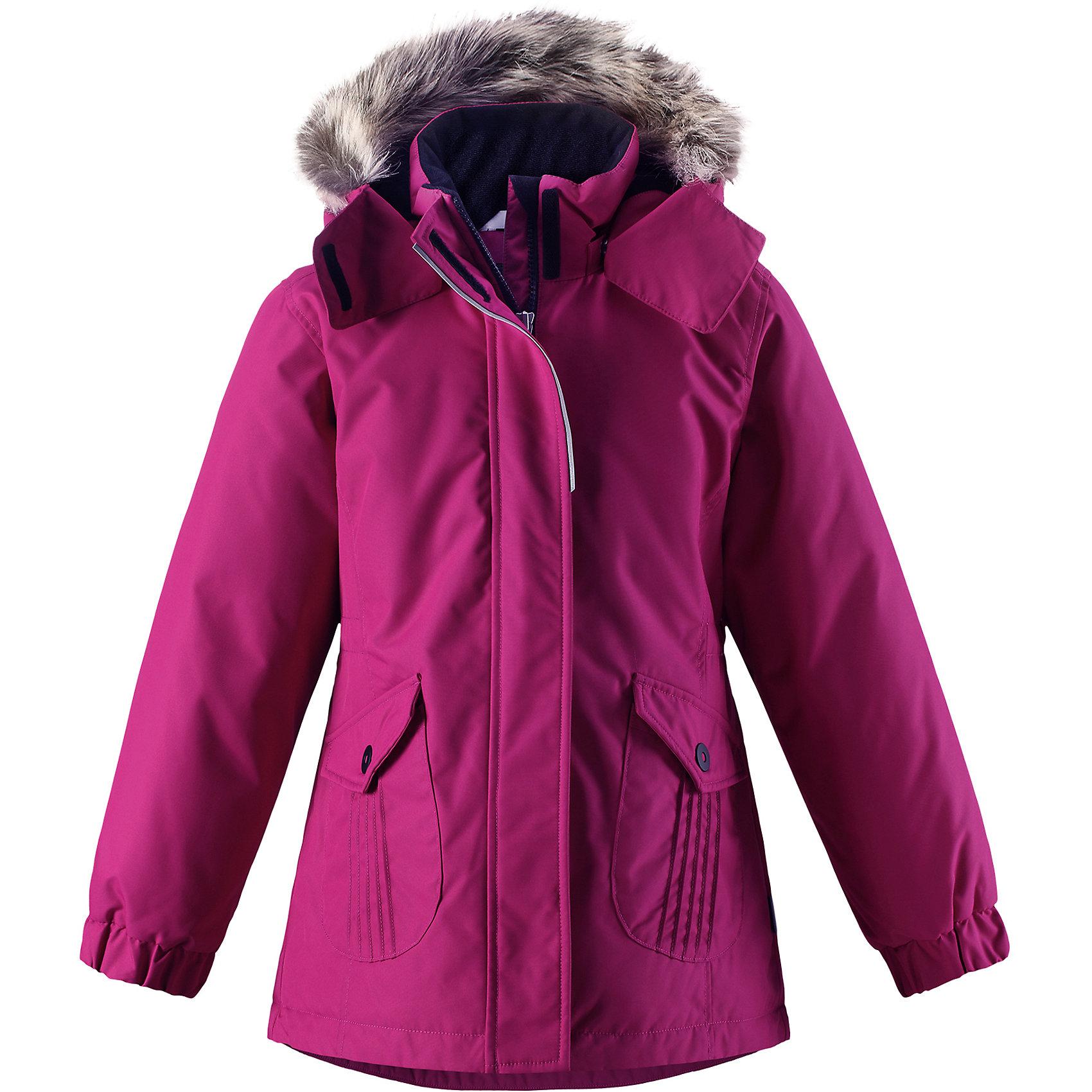 Куртка Lassie для девочкиОдежда<br>В этой стильной детской зимней куртке любители прогулок будут так хорошо выглядеть, а еще им будет очень тепло! Удлиненная модель для девочек, спереди оснащенная большими карманами с клапанами. Куртка изготовлена из ветронепроницаемого, дышащего материала с верхним водо- и грязеотталкивающим слоем – в ней будет тепло и комфортно во время веселых прогулок. Образ дополняют полезные и продуманные детали: карманы на липучках и безопасный съемный капюшон со съемной оторочкой из искусственного меха.<br>Состав:<br>100% Полиэстер<br><br>Ширина мм: 356<br>Глубина мм: 10<br>Высота мм: 245<br>Вес г: 519<br>Цвет: розовый<br>Возраст от месяцев: 108<br>Возраст до месяцев: 120<br>Пол: Женский<br>Возраст: Детский<br>Размер: 140,92,98,104,110,116,122,128,134<br>SKU: 6927531