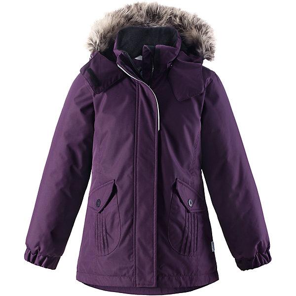Куртка Lassie для девочкиОдежда<br>Характеристики товара:<br><br>• цвет: фиолетовый;<br>• состав: 100% полиэстер, полиуретановое покрытие;<br>• подкладка: 100% полиэстер;<br>• утеплитель: 180 г/м2;<br>• сезон: зима;<br>• температурный режим: от 0 до -20С;<br>• водонепроницаемость: 1000 мм;<br>• воздухопроницаемость: 2000 мм;<br>• износостойкость: 20000 циклов (тест Мартиндейла);<br>• особенности: с мехом, удлиненная куртка;<br>• застежка: молния с дополнительной защитной планкой;<br>• водоотталкивающий, ветронепроницаемый и дышащий материал;<br>• гладкая подкладка из полиэстера;<br>• безопасный съемный капюшон; <br>• съемный искусственный мех на капюшоне;<br>• эластичные манжеты рукавов; <br>• регулируемый обхват талии;<br>• карманы с клапанами;<br>• светоотражающие детали;<br>• страна бренда: Финляндия;<br>• страна изготовитель: Китай;<br><br>В этой стильной детской зимней куртке любители прогулок будут так хорошо выглядеть, а еще им будет очень тепло! Удлиненная модель для девочек, спереди оснащенная большими карманами с клапанами. Куртка изготовлена из ветронепроницаемого, дышащего материала с верхним водо- и грязеотталкивающим слоем – в ней будет тепло и комфортно во время веселых прогулок. Образ дополняют полезные и продуманные детали: карманы на липучках и безопасный съемный капюшон со съемной оторочкой из искусственного меха.<br><br>Куртку Lassie (Ласси) для девочки можно купить в нашем интернет-магазине.<br><br>Ширина мм: 356<br>Глубина мм: 10<br>Высота мм: 245<br>Вес г: 519<br>Цвет: лиловый<br>Возраст от месяцев: 84<br>Возраст до месяцев: 96<br>Пол: Женский<br>Возраст: Детский<br>Размер: 128,122,116,110,104,98,92,140,134<br>SKU: 6927541