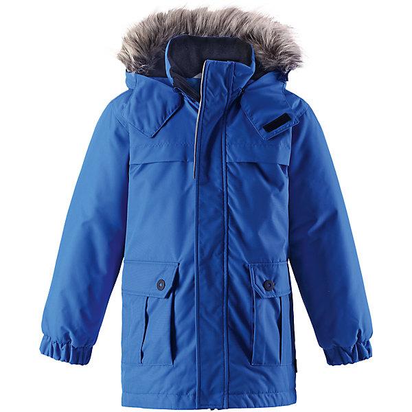 Куртка-парка Lassie для мальчикаОдежда<br>Характеристики товара:<br><br>• цвет: голубой;<br>• состав: 100% полиэстер, полиуретановое покрытие;<br>• подкладка: 100% полиэстер;<br>• утеплитель: 180 г/м2;<br>• сезон: зима;<br>• температурный режим: от 0 до -20С;<br>• водонепроницаемость: 1000 мм;<br>• воздухопроницаемость: 2000 мм;<br>• износостойкость: 20000 циклов (тест Мартиндейла);<br>• особенности: с мехом, парка;<br>• застежка: молния с дополнительной защитной планкой;<br>• водоотталкивающий, ветронепроницаемый и дышащий материал;<br>• гладкая подкладка из полиэстера;<br>• безопасный съемный капюшон; <br>• съемный искусственный мех на капюшоне;<br>• эластичные манжеты рукавов; <br>• карманы с клапанами;<br>• светоотражающие детали;<br>• страна бренда: Финляндия;<br>• страна изготовитель: Китай;<br><br>Эта повседневная, но очень стильная детская зимняя парка идеальна для снежных и морозных зимних дней! Удлиненная задняя часть обеспечивает дополнительное утепление, а отделка из искусственного меха защищает нежную детскую кожу от морозного ветра. Съемный капюшон безопасен во время игр на свежем воздухе. Большие карманы с клапанами сохранят ключи от дома и другие важные мелочи.<br><br>Куртку Lassie (Ласси) для мальчика можно купить в нашем интернет-магазине.<br>Ширина мм: 356; Глубина мм: 10; Высота мм: 245; Вес г: 519; Цвет: синий; Возраст от месяцев: 18; Возраст до месяцев: 24; Пол: Мужской; Возраст: Детский; Размер: 92,140,98,104,110,116,122,128,134; SKU: 6927561;
