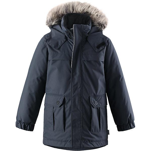 Куртка-парка Lassie для мальчикаОдежда<br>Характеристики товара:<br><br>• цвет: темно-серый;<br>• состав: 100% полиэстер, полиуретановое покрытие;<br>• подкладка: 100% полиэстер;<br>• утеплитель: 180 г/м2;<br>• сезон: зима;<br>• температурный режим: от 0 до -20С;<br>• водонепроницаемость: 1000 мм;<br>• воздухопроницаемость: 2000 мм;<br>• износостойкость: 20000 циклов (тест Мартиндейла);<br>• особенности: с мехом, парка;<br>• застежка: молния с дополнительной защитной планкой;<br>• водоотталкивающий, ветронепроницаемый и дышащий материал;<br>• гладкая подкладка из полиэстера;<br>• безопасный съемный капюшон; <br>• съемный искусственный мех на капюшоне;<br>• эластичные манжеты рукавов; <br>• карманы с клапанами;<br>• светоотражающие детали;<br>• страна бренда: Финляндия;<br>• страна изготовитель: Китай;<br><br>Эта повседневная, но очень стильная детская зимняя парка идеальна для снежных и морозных зимних дней! Удлиненная задняя часть обеспечивает дополнительное утепление, а отделка из искусственного меха защищает нежную детскую кожу от морозного ветра. Съемный капюшон безопасен во время игр на свежем воздухе. Большие карманы с клапанами сохранят ключи от дома и другие важные мелочи.<br><br>Куртку Lassie (Ласси) для мальчика можно купить в нашем интернет-магазине.<br>Ширина мм: 356; Глубина мм: 10; Высота мм: 245; Вес г: 519; Цвет: серый; Возраст от месяцев: 18; Возраст до месяцев: 24; Пол: Мужской; Возраст: Детский; Размер: 92,140,98,104,110,116,122,128,134; SKU: 6927571;