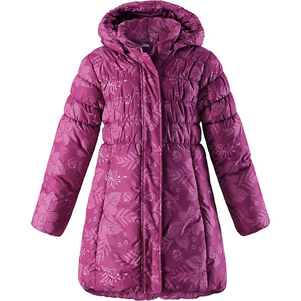 Пальто Lassie для девочкиОдежда<br>Характеристики товара:<br><br>• цвет: розовый;<br>• состав: 100% полиэстер, полиуретановое покрытие;<br>• подкладка: 100% полиэстер;<br>• утеплитель: 200 г/м2;<br>• сезон: зима;<br>• температурный режим: от 0 до -25С;<br>• водонепроницаемость: 1000 мм;<br>• воздухопроницаемость: 2000 мм;<br>• износостойкость: 15000 циклов (тест Мартиндейла);<br>• особенности: стеганое, удлиненное пальто;<br>• застежка: молния с дополнительной защитной планкой;<br>• водоотталкивающий, ветронепроницаемый и дышащий материал;<br>• гладкая подкладка из полиэстера;<br>• безопасный съемный капюшон; <br>• эластичные манжеты рукавов; <br>• эластичная кромка подола;<br>• карманы в боковых швах;<br>• светоотражающие детали;<br>• страна бренда: Финляндия;<br>• страна изготовитель: Китай;<br><br>Зимнее стеганое пальто на молнии и с капюшоном. Удлиненная модель для девочек. Пальто изготовлено из ветронепроницаемого, дышащего материала с верхним водо- и ветронепроницаемым слоем – в нем будет тепло и комфортно во время веселых прогулок. <br><br>Пальто Lassie (Ласси) для девочки можно купить в нашем интернет-магазине.<br><br>Ширина мм: 356<br>Глубина мм: 10<br>Высота мм: 245<br>Вес г: 519<br>Цвет: розовый<br>Возраст от месяцев: 60<br>Возраст до месяцев: 72<br>Пол: Женский<br>Возраст: Детский<br>Размер: 116,110,104,140,98,92,134,128,122<br>SKU: 6927591