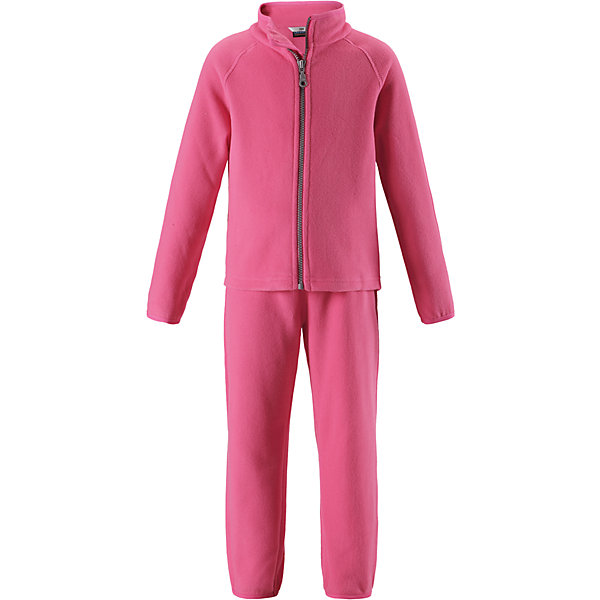 Флисовый комплект LassieОдежда<br>Характеристики товара:<br><br>• цвет: розовый;<br>• состав: 100% полиэстер, флис 200 г/м2;<br>• сезон: зима;<br>• застежка: кофта на молнии, брюки на резинке;<br>• выводит влагу в верхние слои одежды;<br>• дышащий, теплый и быстросохнущий флис; <br>• молния с защитой подбородка от защемления;<br>• эластичные манжеты на рукавах и брючинах; <br>• эластичный воротник и талия;<br>• страна бренда: Финляндия;<br>• страна изготовитель: Китай;<br><br>Флисовый комплект состоит из кофты и шатнишек. Кофта застегивается на молнию по всей длине, молния с защитой подбородка от защемления. Брюки на эластичной мягкой резинке, которая не давит.<br><br>Флисовый комплект Lassie (Ласси) можно купить в нашем интернет-магазине.<br>Ширина мм: 190; Глубина мм: 74; Высота мм: 229; Вес г: 236; Цвет: розовый; Возраст от месяцев: 18; Возраст до месяцев: 24; Пол: Женский; Возраст: Детский; Размер: 92,140,134,128,122,116,110,104,98; SKU: 6927911;