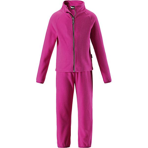Флисовый комплект LassieОдежда<br>Характеристики товара:<br><br>• цвет: розовый;<br>• состав: 100% полиэстер, флис 200 г/м2;<br>• сезон: зима;<br>• застежка: кофта на молнии, брюки на резинке;<br>• выводит влагу в верхние слои одежды;<br>• дышащий, теплый и быстросохнущий флис; <br>• молния с защитой подбородка от защемления;<br>• эластичные манжеты на рукавах и брючинах; <br>• эластичный воротник и талия;<br>• страна бренда: Финляндия;<br>• страна изготовитель: Китай;<br><br>Флисовый комплект состоит из кофты и шатнишек. Кофта застегивается на молнию по всей длине, молния с защитой подбородка от защемления. Брюки на эластичной мягкой резинке, которая не давит.<br><br>Флисовый комплект Lassie (Ласси) можно купить в нашем интернет-магазине.<br><br>Ширина мм: 190<br>Глубина мм: 74<br>Высота мм: 229<br>Вес г: 236<br>Цвет: розовый<br>Возраст от месяцев: 24<br>Возраст до месяцев: 36<br>Пол: Женский<br>Возраст: Детский<br>Размер: 98,140,134,128,122,92,116,110,104<br>SKU: 6927921