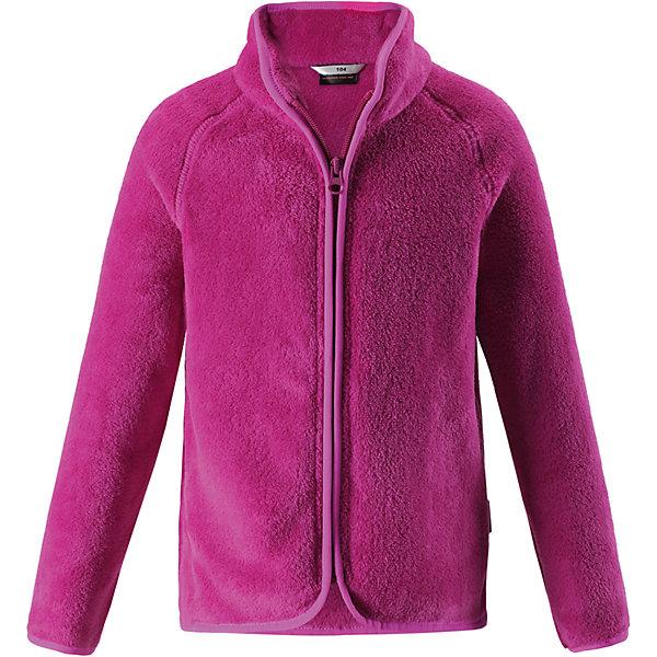 Флисовая кофта LassieОдежда<br>Характеристики товара:<br><br>• цвет: розовый;<br>• состав: 100% полиэстер, флис 260 г/м2;<br>• сезон: зима;<br>• застежка: молния по всей длине;<br>• выводит влагу в верхние слои одежды;<br>• простой в уходе материал, быстро сохнет; <br>• мягкий и удобный, пушистый флисовый материал;<br>• эластичная резинка на воротнике, манжетах и подоле; <br>• страна бренда: Финляндия;<br>• страна изготовитель: Китай;<br><br>Флисовая кофта – то, что надо! Флис – простой в уходе и быстросохнущий материал, который отводит влагу от кожи и отлично согревает, в нем маленькому любителю прогулок будет всегда тепло. А благодаря практичной молнии во всю длину спереди куртку легко надевать.<br><br>Флисовая кофта Lassie (Ласси) можно купить в нашем интернет-магазине.<br><br>Ширина мм: 190<br>Глубина мм: 74<br>Высота мм: 229<br>Вес г: 236<br>Цвет: розовый<br>Возраст от месяцев: 18<br>Возраст до месяцев: 24<br>Пол: Женский<br>Возраст: Детский<br>Размер: 92,140,134,128,122,116,110,104,98<br>SKU: 6927951