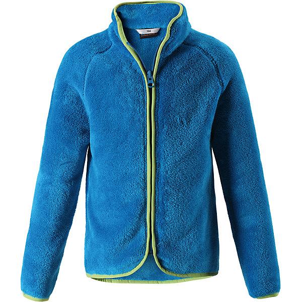 Флисовая кофта LassieОдежда<br>Характеристики товара:<br><br>• цвет: синий;<br>• состав: 100% полиэстер, флис 260 г/м2;<br>• сезон: зима;<br>• застежка: молния по всей длине;<br>• выводит влагу в верхние слои одежды;<br>• простой в уходе материал, быстро сохнет; <br>• мягкий и удобный, пушистый флисовый материал;<br>• эластичная резинка на воротнике, манжетах и подоле; <br>• страна бренда: Финляндия;<br>• страна изготовитель: Китай;<br><br>Флисовая кофта – то, что надо! Флис – простой в уходе и быстросохнущий материал, который отводит влагу от кожи и отлично согревает, в нем маленькому любителю прогулок будет всегда тепло. А благодаря практичной молнии во всю длину спереди куртку легко надевать.<br><br>Флисовая кофта Lassie (Ласси) можно купить в нашем интернет-магазине.<br><br>Ширина мм: 190<br>Глубина мм: 74<br>Высота мм: 229<br>Вес г: 236<br>Цвет: синий<br>Возраст от месяцев: 18<br>Возраст до месяцев: 24<br>Пол: Мужской<br>Возраст: Детский<br>Размер: 92,140,134,128,122,116,110,104,98<br>SKU: 6927961