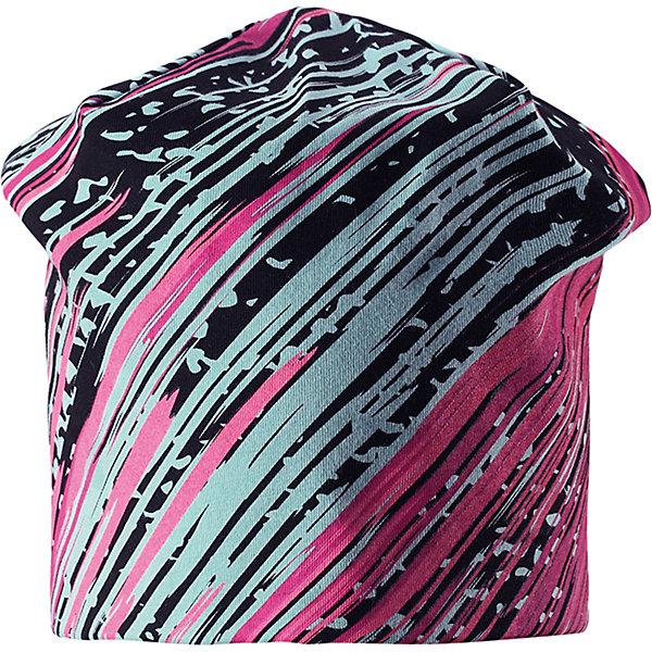 Шапка LassieШапки и шарфы<br>Характеристики товара:<br><br>• цвет: мульти;<br>• состав: 95% хлопок, 5% эластан;<br>• подкладка: 100% полиэстер, флис;<br>• без утеплителя;<br>• сезон: демисезон;<br>• температурный режим: от +5С;<br>• эластичный удобный материал;<br>• ветронепроницаемые вставки в области ушей; <br>• сплошная подкладка: мягкий теплый флис;<br>• декоративный принт;<br>• светоотражающие детали; <br>• страна бренда: Финляндия;<br>• страна изготовитель: Китай;<br><br>Осенняя шапка на флисовой подкладке. Ветронепроницаемые вставки в области ушей защищают от холодного ветра, а светоотражающая эмблема Lassie® спереди позволяет лучше разглядеть ребенка в темное время суток. Шапка из плотного джерси, с подкладкой из быстросохнущего флиса, станет идеальным вариантом для осенних прогулок. <br><br>Шапку Lassie (Ласси) можно купить в нашем интернет-магазине.<br><br>Ширина мм: 89<br>Глубина мм: 117<br>Высота мм: 44<br>Вес г: 155<br>Цвет: розовый<br>Возраст от месяцев: 72<br>Возраст до месяцев: 144<br>Пол: Женский<br>Возраст: Детский<br>Размер: 54-56,46-48,50-52<br>SKU: 6928101