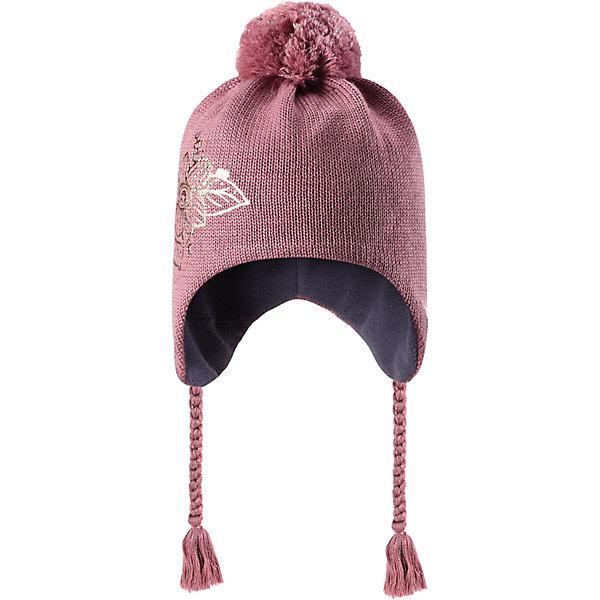Шапка Lassie для девочкиШапки и шарфы<br>Характеристики товара:<br><br>• цвет: розовый;<br>• состав: 50% шерсть, 50% полиакрил;<br>• подкладка: 100% полиэстер, флис;<br>• без утеплителя;<br>• сезон: демисезон;<br>• температурный режим: от +5С;<br>• особенности: шерстяная, с помпоном;<br>• шапка на завязках;<br>• мягкая и теплая ткань из смеси шерсти;<br>• ветронепроницаемые вставки в области ушей; <br>• сплошная подкладка: мягкий теплый флис;<br>• светоотражающие детали; <br>• страна бренда: Финляндия;<br>• страна изготовитель: Китай;<br><br>Эта очаровательная детская шапка незаменима в холодные зимние дни! Красивая и гладкая флисовая подкладка очень приятна на ощупь и обеспечивает дополнительное утепление. Ветронепроницаемые вставки в области ушей защищают ушки от холодного ветра, а спереди на шапке размещена светоотражающая эмблема Lassie®. <br><br>Шапку Lassie (Ласси) можно купить в нашем интернет-магазине.<br><br>Ширина мм: 89<br>Глубина мм: 117<br>Высота мм: 44<br>Вес г: 155<br>Цвет: розовый<br>Возраст от месяцев: 12<br>Возраст до месяцев: 24<br>Пол: Женский<br>Возраст: Детский<br>Размер: 46-48,54-56,50-52<br>SKU: 6928161