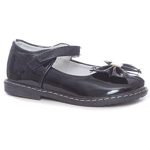 Туфли Vitacci для девочкиНарядная обувь<br>Характеристики товара:<br><br>• цвет: черный<br>• внешний материал: искусственная кожа<br>• внутренний материал: натуральная кожа<br>• стелька: натуральная кожа<br>• подошва: ТПУ<br>• сезон: круглый год<br>• особенности модели: школьная, лакированная<br>• застежка: липучка<br>• анатомические <br>• страна бренда: Италия<br>• страна производства: Китай<br><br>Аккуратные туфли для ребенка сделаны из качественных дышащих материалов. Такие туфли для девочки помогут обеспечить ребенку модный и аккуратный внешний вид. Детские туфли Vitacci стильные и удобные, подкладка из натуральной кожи обеспечивает комфортный микроклимат ногам на весь день. <br><br>Туфли для девочки Vitacci (Витачи) можно купить в нашем интернет-магазине.<br>Ширина мм: 227; Глубина мм: 145; Высота мм: 124; Вес г: 325; Цвет: черный; Возраст от месяцев: 60; Возраст до месяцев: 72; Пол: Женский; Возраст: Детский; Размер: 29,28,27,26,25,30; SKU: 6928755;