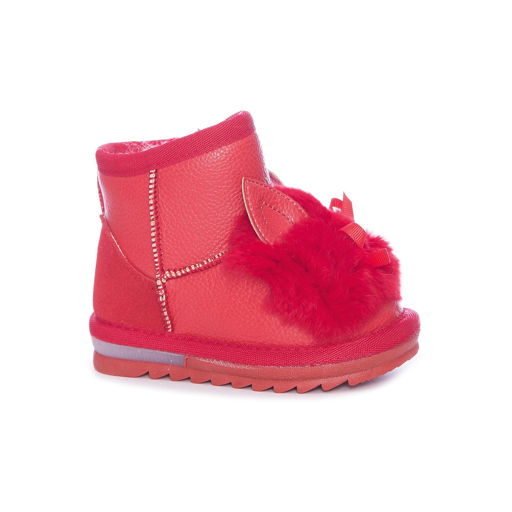 Угги Vitacci для девочкиОбувь для малышей<br>Характеристики товара:<br><br>• цвет: красный<br>• внешний материал: текстиль<br>• внешний материал: искусственная кожа<br>• стелька: шерстяной мех<br>• подошва: резина<br>• сезон: зима<br>• температурный режим: от 0 до -20С<br>• подошва не скользит <br>• анатомические <br>• страна бренда: Италия<br>• страна производства: Китай<br><br>Красные сапоги для ребенка разработаны с учетом тенденций в современной молодежной моде. Такие угги для девочки от Витачи смотрятся оригинально и модно. Детские сапоги Vitacci утеплены натуральным мехом. Зимние сапоги для девочки созданы для холодной погоды. <br><br>Сапоги для девочки Vitacci (Витачи) можно купить в нашем интернет-магазине.<br><br>Ширина мм: 257<br>Глубина мм: 180<br>Высота мм: 130<br>Вес г: 420<br>Цвет: красный<br>Возраст от месяцев: 24<br>Возраст до месяцев: 24<br>Пол: Женский<br>Возраст: Детский<br>Размер: 25,21,22,23,24<br>SKU: 6928997