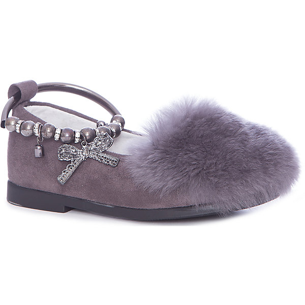Туфли Vitacci для девочкиНарядная обувь<br>Характеристики товара:<br><br>• цвет: серый<br>• внешний материал: текстиль<br>• внутренний материал: натуральная кожа<br>• стелька: натуральная кожа<br>• подошва: резина<br>• сезон: круглый год<br>• особенности модели: нарядная<br>• застежка: металлический браслет<br>• стразы<br>• анатомические <br>• страна бренда: Италия<br>• страна производства: Китай<br><br>Оригинальные туфли для девочки нарядно смотрятся. Их подкладка - из натуральной кожи. Детские туфли Vitacci стильные и удобные, подкладка из качественного материала обеспечивает комфорт ногам на весь день. Эти туфли для ребенка выглядят красиво и модно. <br><br>Туфли для девочки Vitacci (Витачи) можно купить в нашем интернет-магазине.<br><br>Ширина мм: 257<br>Глубина мм: 180<br>Высота мм: 130<br>Вес г: 420<br>Цвет: серый<br>Возраст от месяцев: 24<br>Возраст до месяцев: 36<br>Пол: Женский<br>Возраст: Детский<br>Размер: 26,31,27,28,29,30,32,33,34,35,36,37<br>SKU: 6929009