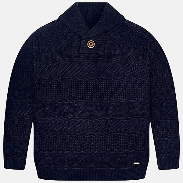 Свитер Mayoral для мальчикаСвитера и кардиганы<br>Характеристики товара:<br><br>• цвет: синий<br>• состав ткани: 85% акрил, 15% шерсть<br>• сезон: демисезон<br>• особенности модели: вязаный узор<br>• длинные рукава<br>• страна бренда: Испания<br>• страна изготовитель: Индия<br><br>Вязаный детский свитер сделан из дышащего приятного на ощупь материала. Благодаря продуманному крою детского свитера создаются комфортные условия для тела. Свитер с узором для мальчика отличается стильным продуманным дизайном.<br><br>Свитер для мальчика Mayoral (Майорал) можно купить в нашем интернет-магазине.<br>Ширина мм: 190; Глубина мм: 74; Высота мм: 229; Вес г: 236; Цвет: синий; Возраст от месяцев: 168; Возраст до месяцев: 180; Пол: Мужской; Возраст: Детский; Размер: 170,128/134,164,158,152,140; SKU: 6933654;