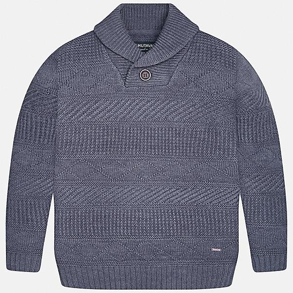 Свитер Mayoral для мальчикаСвитера и кардиганы<br>Характеристики товара:<br><br>• цвет: серый<br>• состав ткани: 85% акрил, 15% шерсть<br>• сезон: демисезон<br>• особенности модели: вязаный узор<br>• длинные рукава<br>• страна бренда: Испания<br>• страна изготовитель: Индия<br><br>Такой свитер для мальчика Mayoral удобно сидит по фигуре. Серый детский свитер сделан из приятного на ощупь материала. Отличный способ обеспечить ребенку комфорт и аккуратный внешний вид - надеть детский свитер от Mayoral. Свитер для мальчика украшен оригинальным декором. <br><br>Свитер для мальчика Mayoral (Майорал) можно купить в нашем интернет-магазине.<br>Ширина мм: 190; Глубина мм: 74; Высота мм: 229; Вес г: 236; Цвет: серый; Возраст от месяцев: 156; Возраст до месяцев: 168; Пол: Мужской; Возраст: Детский; Размер: 164,158,152,140,128/134,170; SKU: 6933661;