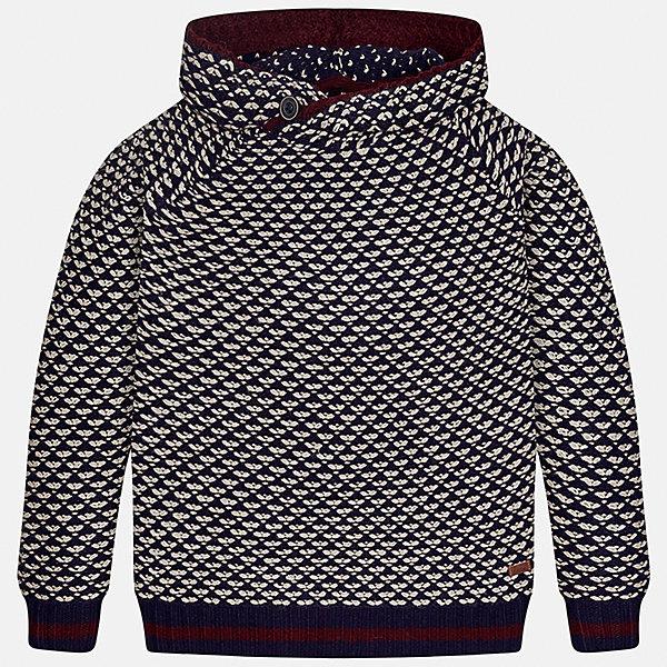 Свитер Mayoral для мальчикаСвитера и кардиганы<br>Характеристики товара:<br><br>• цвет: черный<br>• состав ткани: 100% акрил<br>• сезон: демисезон<br>• особенности модели: ворот с пуговицей<br>• манжеты<br>• длинные рукава<br>• страна бренда: Испания<br>• страна изготовитель: Индия<br><br>Такой свитер для мальчика от Майорал поможет обеспечить ребенку комфорт и тепло. Детский свитер отличается модным и продуманным дизайном. В свитере для мальчика от испанской компании Майорал ребенок будет выглядеть модно, а чувствовать себя - комфортно. <br><br>Свитер для мальчика Mayoral (Майорал) можно купить в нашем интернет-магазине.<br>Ширина мм: 190; Глубина мм: 74; Высота мм: 229; Вес г: 236; Цвет: черный; Возраст от месяцев: 144; Возраст до месяцев: 156; Пол: Мужской; Возраст: Детский; Размер: 158,128/134,170,164,152,140; SKU: 6933668;
