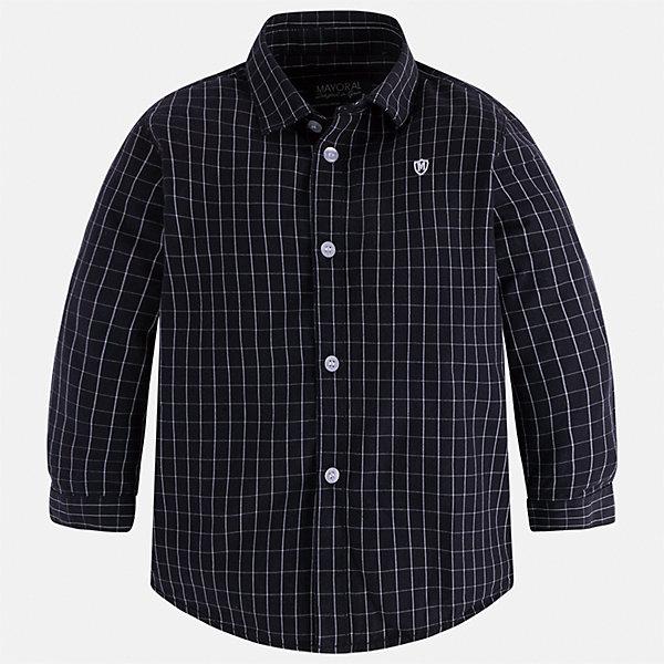 Рубашка Mayoral для мальчикаБлузки и рубашки<br>Характеристики товара:<br><br>• цвет: серый<br>• состав ткани: 100% хлопок<br>• сезон: демисезон<br>• особенности модели: школьная<br>• застежка: пуговицы<br>• длинные рукава<br>• страна бренда: Испания<br>• страна изготовитель: Индия<br><br>Рубашка с длинным рукавом для мальчика Mayoral удобно сидит по фигуре. Стильная детская рубашка сделана из натуральной хлопковой ткани. Отличный способ обеспечить ребенку комфорт и аккуратный внешний вид - надеть детскую рубашку от Mayoral. Детская рубашка с длинным рукавом сшита из приятного на ощупь материала. <br><br>Рубашку для мальчика Mayoral (Майорал) можно купить в нашем интернет-магазине.<br><br>Ширина мм: 174<br>Глубина мм: 10<br>Высота мм: 169<br>Вес г: 157<br>Цвет: серый<br>Возраст от месяцев: 96<br>Возраст до месяцев: 108<br>Пол: Мужской<br>Возраст: Детский<br>Размер: 134,128,122,116,110,104<br>SKU: 6934164