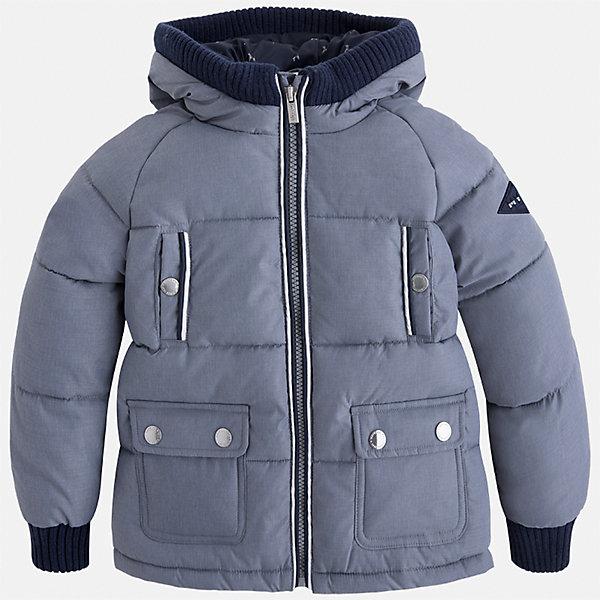 Куртка для мальчика MayoralВерхняя одежда<br>Характеристики товара:<br><br>• цвет: серый<br>• состав ткани: 65% полиамид, 35% полиэстер<br>• подкладка: 100% полиэстер<br>• утеплитель: 100% полиэстер<br>• сезон: демисезон<br>• температурный режим: от -10 до +10<br>• особенности куртки: дутая, с капюшоном<br>• капюшон: несъемный<br>• застежка: молния<br>• страна бренда: Испания<br>• страна изготовитель: Индия<br><br>Теплая демисезонная детская куртка подойдет для переменной погоды. Отличный способ обеспечить ребенку тепло и комфорт - надеть теплую куртку от Mayoral. Детская куртка сшита из приятного на ощупь материала. Куртка для мальчика Mayoral дополнена теплой подкладкой. <br><br>Куртку для мальчика Mayoral (Майорал) можно купить в нашем интернет-магазине.<br><br>Ширина мм: 356<br>Глубина мм: 10<br>Высота мм: 245<br>Вес г: 519<br>Цвет: серый<br>Возраст от месяцев: 18<br>Возраст до месяцев: 24<br>Пол: Мужской<br>Возраст: Детский<br>Размер: 92,134,128,122,116,110,104,98<br>SKU: 6934580