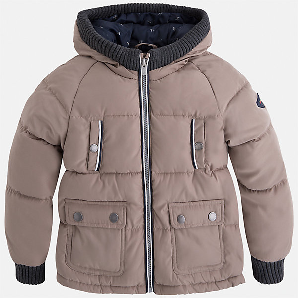 Куртка для мальчика MayoralВерхняя одежда<br>Характеристики товара:<br><br>• цвет: бежевый<br>• состав ткани: 65% полиамид, 35% полиэстер<br>• подкладка: 100% полиэстер<br>• утеплитель: 100% полиэстер<br>• сезон: демисезон<br>• температурный режим: от -10 до +10<br>• особенности куртки: дутая, с капюшоном<br>• капюшон: несъемный<br>• застежка: молния<br>• страна бренда: Испания<br>• страна изготовитель: Индия<br><br>Детская куртка подойдет для прохладной погоды и небольшого мороза. Благодаря качественной ткани детской куртки для мальчика создаются комфортные условия для тела. Стильная куртка для мальчика отличается стильным продуманным дизайном.<br><br>Куртку для мальчика Mayoral (Майорал) можно купить в нашем интернет-магазине.<br><br>Ширина мм: 356<br>Глубина мм: 10<br>Высота мм: 245<br>Вес г: 519<br>Цвет: бежевый<br>Возраст от месяцев: 96<br>Возраст до месяцев: 108<br>Пол: Мужской<br>Возраст: Детский<br>Размер: 134,92,98,104,110,116,122,128<br>SKU: 6934589