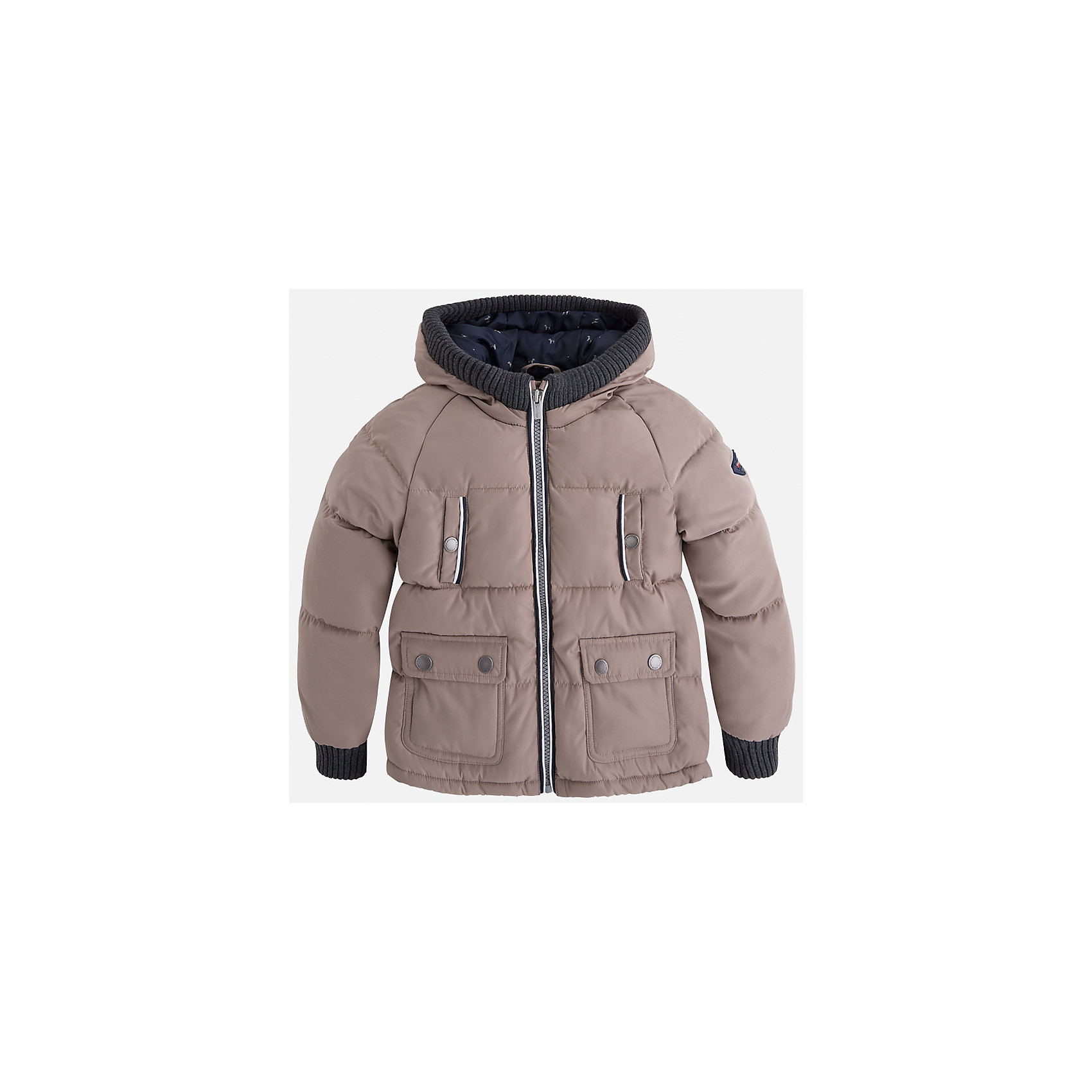 Куртка для мальчика MayoralДемисезонные куртки<br>Характеристики товара:<br><br>• цвет: бежевый<br>• состав ткани: 65% полиамид, 35% полиэстер<br>• подкладка: 100% полиэстер<br>• утеплитель: 100% полиэстер<br>• сезон: демисезон<br>• температурный режим: от -10 до +10<br>• особенности куртки: дутая, с капюшоном<br>• капюшон: несъемный<br>• застежка: молния<br>• страна бренда: Испания<br>• страна изготовитель: Индия<br><br>Детская куртка подойдет для прохладной погоды и небольшого мороза. Благодаря качественной ткани детской куртки для мальчика создаются комфортные условия для тела. Стильная куртка для мальчика отличается стильным продуманным дизайном.<br><br>Куртку для мальчика Mayoral (Майорал) можно купить в нашем интернет-магазине.<br><br>Ширина мм: 356<br>Глубина мм: 10<br>Высота мм: 245<br>Вес г: 519<br>Цвет: бежевый<br>Возраст от месяцев: 96<br>Возраст до месяцев: 108<br>Пол: Мужской<br>Возраст: Детский<br>Размер: 134,92,98,104,110,116,122,128<br>SKU: 6934589