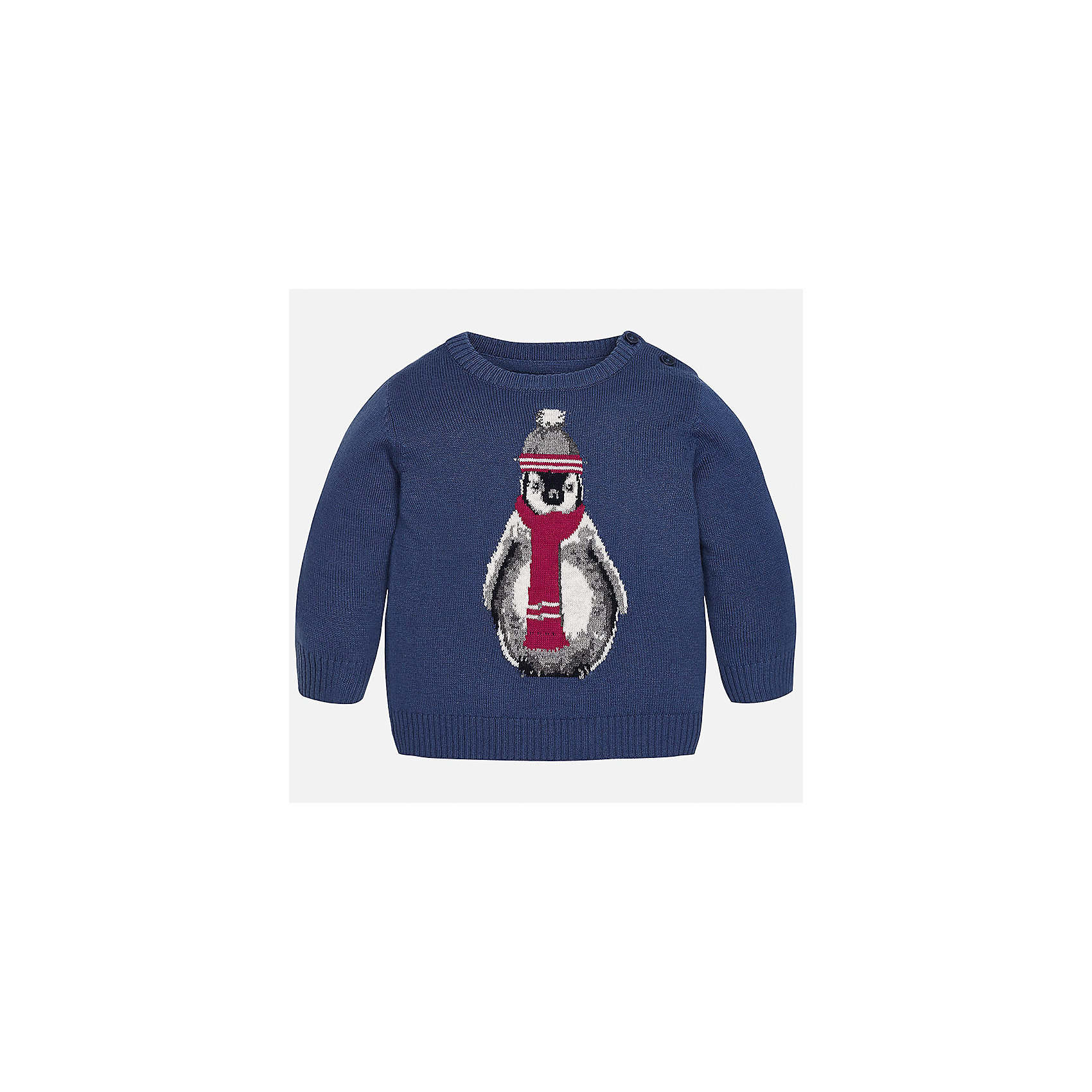 Свитер для мальчика MayoralТолстовки, свитера, кардиганы<br>Характеристики товара:<br><br>• цвет: синий<br>• состав ткани: 60% хлопок, 30% полиамид, 10% шерсть<br>• сезон: демисезон<br>• особенности модели: вязаный рисунок<br>• манжеты<br>• длинные рукава<br>• страна бренда: Испания<br>• страна изготовитель: Индия<br><br>Оригинальный свитер для мальчика Mayoral удобно сидит по фигуре. Этот детский свитер сделан из приятного на ощупь материала. Отличный способ обеспечить ребенку комфорт и аккуратный внешний вид - надеть детский свитер от Mayoral. Свитер для мальчика украшен оригинальным декором. <br><br>Свитер для мальчика Mayoral (Майорал) можно купить в нашем интернет-магазине.<br><br>Ширина мм: 190<br>Глубина мм: 74<br>Высота мм: 229<br>Вес г: 236<br>Цвет: бежевый<br>Возраст от месяцев: 24<br>Возраст до месяцев: 36<br>Пол: Мужской<br>Возраст: Детский<br>Размер: 98,74,80,86,92<br>SKU: 6935111