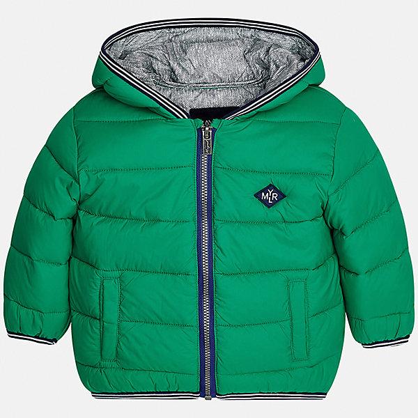 Куртка для мальчика MayoralВерхняя одежда<br>Характеристики товара:<br><br>• цвет: зеленый<br>• состав ткани: 100% полиамид<br>• подкладка: 100% полиэстер<br>• утеплитель: 100% полиэстер<br>• сезон: демисезон<br>• температурный режим: от -10 до +10<br>• особенности модели: с капюшоном, дутая, сумка в комплекте<br>• капюшон: несъемный<br>• застежка: молния<br>• страна бренда: Испания<br>• страна изготовитель: Индия<br><br>Эта детская куртка с капюшоном отличается модным и продуманным дизайном. Теплая демисезонная куртка для мальчика от Майорал поможет обеспечить ребенку комфорт и тепло. В куртке для мальчика от испанской компании Майорал ребенок будет выглядеть модно, а чувствовать себя - комфортно. <br><br>Куртку для мальчика Mayoral (Майорал) можно купить в нашем интернет-магазине.<br><br>Ширина мм: 356<br>Глубина мм: 10<br>Высота мм: 245<br>Вес г: 519<br>Цвет: зеленый<br>Возраст от месяцев: 12<br>Возраст до месяцев: 15<br>Пол: Мужской<br>Возраст: Детский<br>Размер: 80,98,92,86<br>SKU: 6935200
