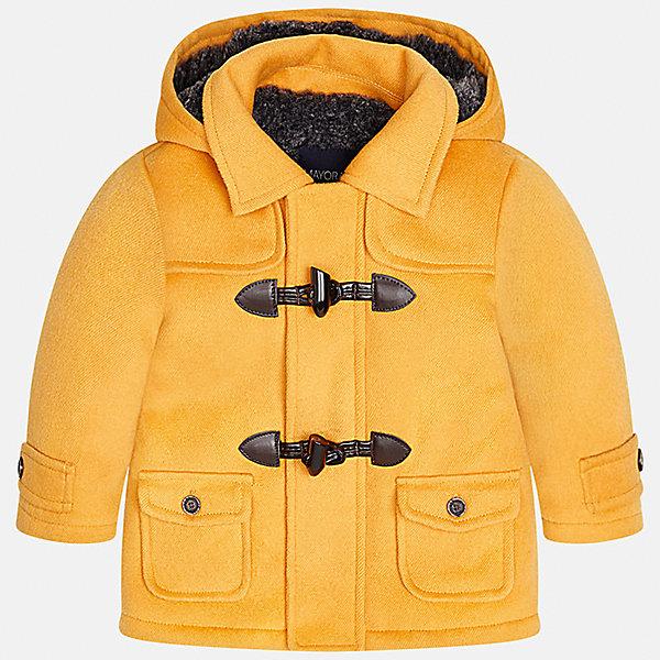 Куртка для мальчика MayoralВерхняя одежда<br>Характеристики товара:<br><br>• цвет: оранжевый<br>• состав ткани: 94% полиэстер, 4% вискоза, 2% эластан<br>• подкладка: 100% полиэстер<br>• утеплитель: 100% полиэстер<br>• сезон: демисезон<br>• температурный режим: от -10 до +10<br>• особенности куртки: с капюшоном<br>• капюшон: несъемный<br>• застежка: молния, пуговицы<br>• страна бренда: Испания<br>• страна изготовитель: Индия<br><br>Яркая детская куртка сделана из легкого, но теплого материала. Благодаря качественной ткани детской куртки для мальчика создаются комфортные условия для тела. Эта куртка для мальчика отличается стильным продуманным дизайном.<br><br>Куртку для мальчика Mayoral (Майорал) можно купить в нашем интернет-магазине.<br>Ширина мм: 356; Глубина мм: 10; Высота мм: 245; Вес г: 519; Цвет: оранжевый; Возраст от месяцев: 12; Возраст до месяцев: 15; Пол: Мужской; Возраст: Детский; Размер: 80,86,92,98; SKU: 6935245;