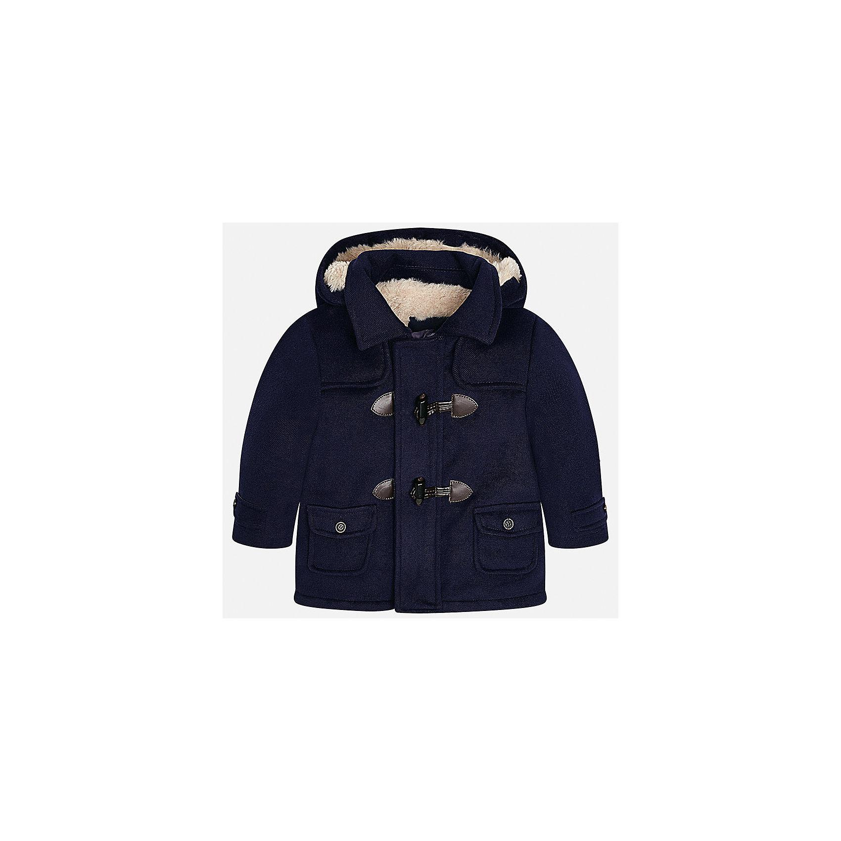 Куртка для мальчика MayoralВерхняя одежда<br>Характеристики товара:<br><br>• цвет: синий<br>• состав ткани: 94% полиэстер, 4% вискоза, 2% эластан<br>• подкладка: 100% полиэстер<br>• утеплитель: 100% полиэстер<br>• сезон: демисезон<br>• температурный режим: от -10 до +10<br>• особенности куртки: с капюшоном<br>• капюшон: несъемный<br>• застежка: молния, пуговицы<br>• страна бренда: Испания<br>• страна изготовитель: Индия<br><br>Эта демисезонная куртка для мальчика от Майорал поможет обеспечить ребенку комфорт и тепло. Детская куртка с капюшоном отличается модным и продуманным дизайном. В куртке для мальчика от испанской компании Майорал ребенок будет выглядеть модно, а чувствовать себя - комфортно. <br><br>Куртку для мальчика Mayoral (Майорал) можно купить в нашем интернет-магазине.<br><br>Ширина мм: 356<br>Глубина мм: 10<br>Высота мм: 245<br>Вес г: 519<br>Цвет: синий<br>Возраст от месяцев: 24<br>Возраст до месяцев: 36<br>Пол: Мужской<br>Возраст: Детский<br>Размер: 98,80,86,92<br>SKU: 6935250