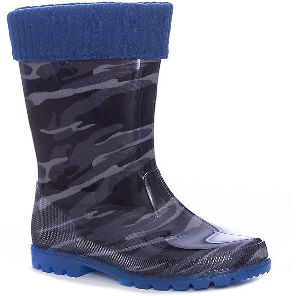 Резиновые сапоги Kapika для мальчикаРезиновые сапоги<br>Характеристики товара:<br><br>• цвет: черный<br>• внешний материал: ПВХ, текстиль<br>• внутренний материал: текстиль<br>• стелька: натуральная кожа<br>• подошва: ПВХ<br>• сезон: демисезон<br>• температурный режим: от 0 до +20<br>• со светодиодами <br>• съемный внутренний сапожок <br>• непромокаемые<br>• анатомические <br>• страна бренда: Россия<br>• страна изготовитель: Китай<br><br>Эта модель детских резиновых сапог обеспечить ногам сухость и комфорт в межсезонье. Резиновые сапоги Kapika модно выглядят и удобно сидят на ноге. <br><br>Модель дополнена теплым вынимающимся сапожком. Сапоги сделаны из прочного материала, подходят для осеннего и весеннего сезона. Обувь для детей от популярного бренда Капика - это качественные и удобные товары. <br><br>Сапоги для девочки Kapika (Капика) можно купить в нашем интернет-магазине.<br><br>Ширина мм: 257<br>Глубина мм: 180<br>Высота мм: 130<br>Вес г: 420<br>Цвет: черный<br>Возраст от месяцев: 84<br>Возраст до месяцев: 96<br>Пол: Мужской<br>Возраст: Детский<br>Размер: 31,35,34,33,32<br>SKU: 6937806
