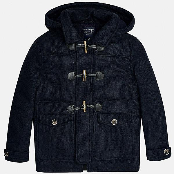 Куртка для мальчика MayoralДемисезонные куртки<br>Характеристики товара:<br><br>• цвет: темно-синий;<br>• сезон: демисезон;<br>• состав ткани: 100% полиэстер;<br>• состав подкладки: 100% полиэстер;<br>• на молнии и на кнопках;<br>• фасон: парка;<br>• капюшон:   отстегивается, без меха;<br>• страна бренда: Испания;<br>• страна изготовитель: Китай.<br><br>Утепленная демисезонная куртка для мальчика от популярного бренда Mayoral,  модный фасон - парка  несомненно понравится вам и вашему ребенку. Качественные ткани, безупречное исполнение, все модели в центре модных тенденций. <br><br>Удлиненная модель синего цвета декорирована вставками под кожу. Модель на мягкой подкладке дополнена нагрудными и передними карманами, отстегивающимся капюшоном на молнии, а также широкими эластичными резинками на манжетах. Куртка застегивается на удобную безопасную молнию, кнопки и пуговицы.<br><br>Легкая и теплая куртка-парка с капюшоном и карманами на холодную осень - теплую зиму. Грамотный крой изделия обеспечивает отличную посадку по фигуре. <br><br>Утепленная демисезонная куртка для мальчика Mayoral (Майорал) можно купить в нашем интернет-магазине.<br><br>Ширина мм: 356<br>Глубина мм: 10<br>Высота мм: 245<br>Вес г: 519<br>Цвет: темно-синий<br>Возраст от месяцев: 96<br>Возраст до месяцев: 108<br>Пол: Мужской<br>Возраст: Детский<br>Размер: 128/134,170,164,158,152,140<br>SKU: 6938915