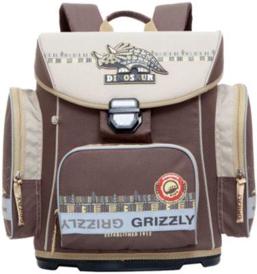 Ранец Grizzly без наполнения, коричневый