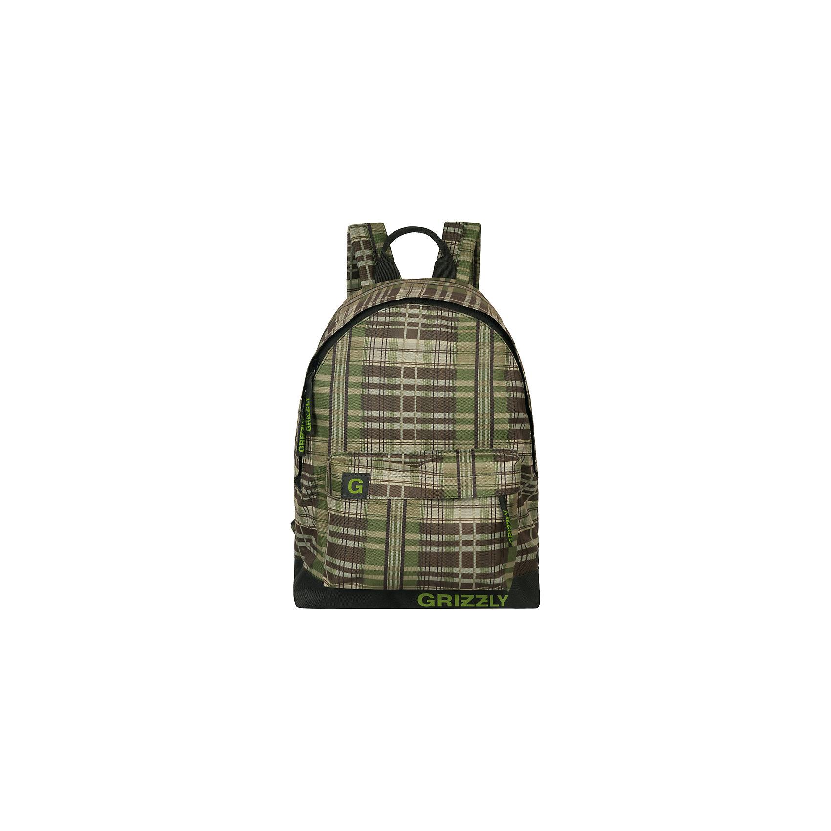Рюкзак Grizzly, клетка черно-зеленаяРюкзаки<br>Рюкзак молодежный, одно отделение, объемный карман на молнии на передней стенке, внутренний подвесной карман на молнии, укрепленная спинка, дополнительная ручка-петля, укрепленные лямки<br><br>Ширина мм: 320<br>Глубина мм: 120<br>Высота мм: 410<br>Вес г: 413<br>Возраст от месяцев: 72<br>Возраст до месяцев: 2147483647<br>Пол: Мужской<br>Возраст: Детский<br>SKU: 6939810