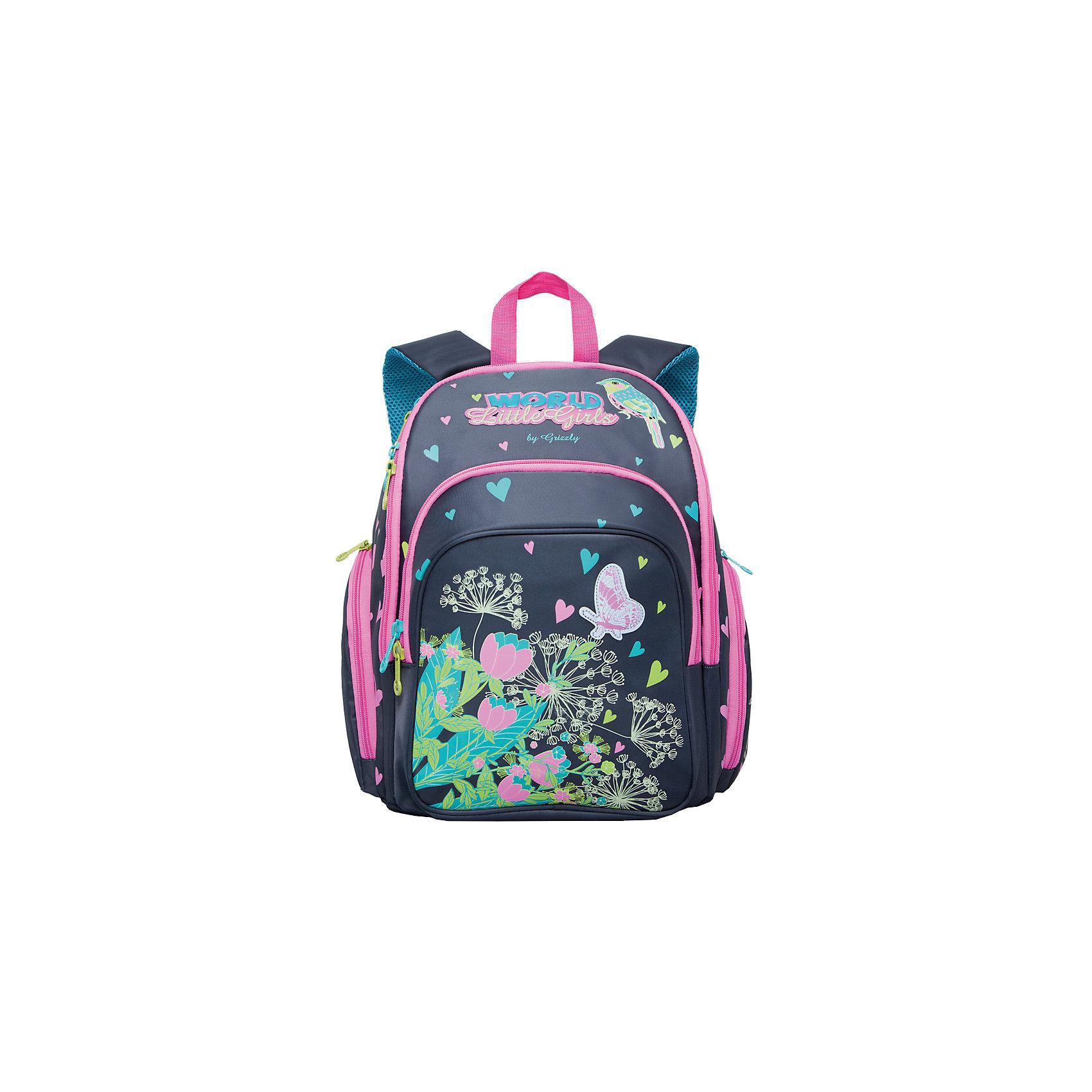 Рюкзак школьный Grizzly, серыйРюкзаки<br>Рюкзак школьный, два отделения, объемный карман на молнии на передней стенке, объемные боковые карманы на молнии, внутренний карман на молнии, откидное жесткое дно, разделительная перегородка-органайзер, жесткая анатомическая спинка, дополнительная ручка-петля, укрепленные лямки, светоотражающие элементы с четырех сторон<br><br>Ширина мм: 300<br>Глубина мм: 200<br>Высота мм: 360<br>Вес г: 980<br>Возраст от месяцев: 72<br>Возраст до месяцев: 2147483647<br>Пол: Мужской<br>Возраст: Детский<br>SKU: 6939813