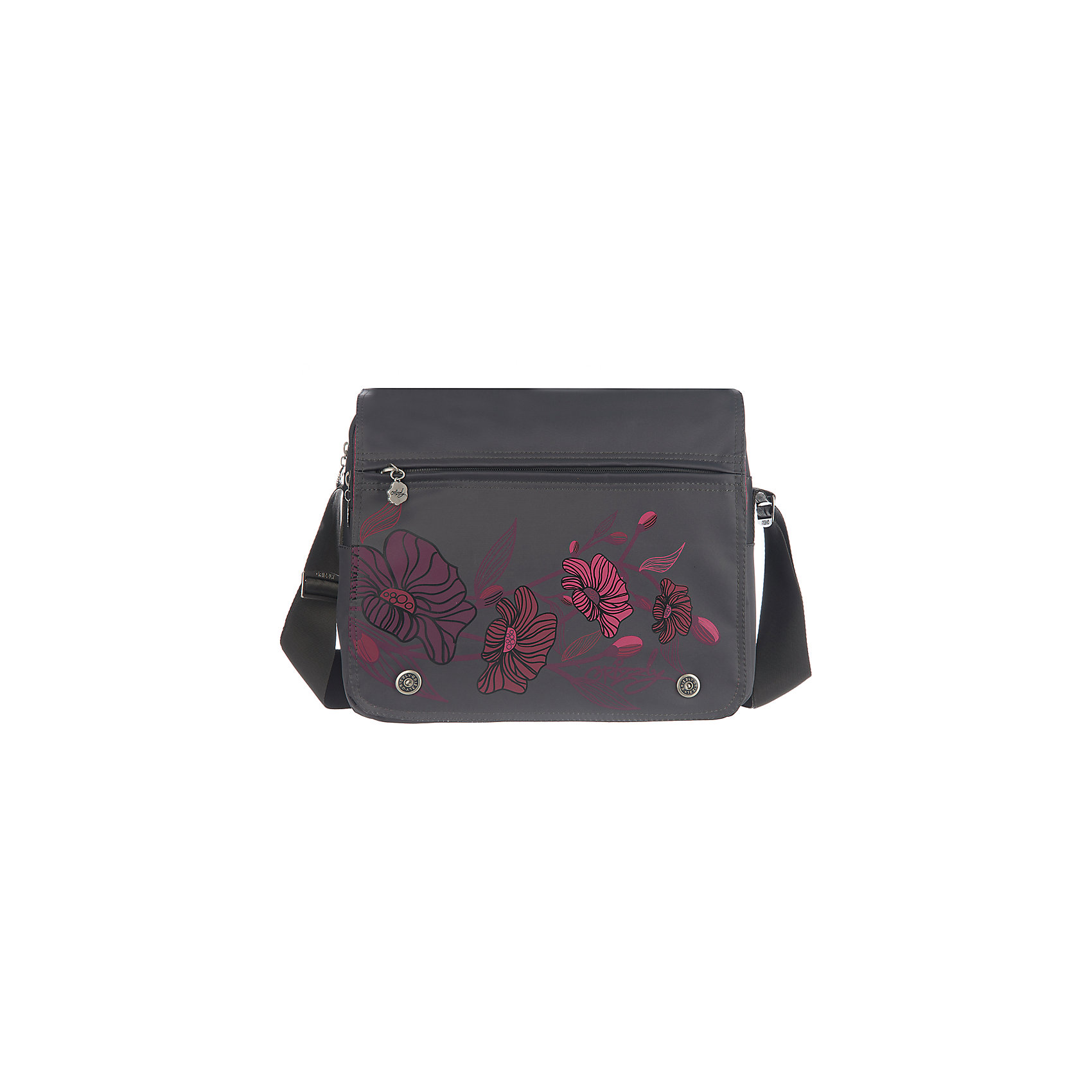 Сумка школьная Grizzly, темно-серыйШкольные сумки<br>Молодежная сумка, два отделения, клапан на магнитных кнопках с карманом на молнии, пенал для карандашей на передней стенке, передний карман, плоский передний карман на молнии, задний карман на молнии, внутренний карман на молнии, регулируемый плечевой ремень<br><br>Ширина мм: 330<br>Глубина мм: 140<br>Высота мм: 280<br>Вес г: 651<br>Возраст от месяцев: 120<br>Возраст до месяцев: 2147483647<br>Пол: Мужской<br>Возраст: Детский<br>SKU: 6939814