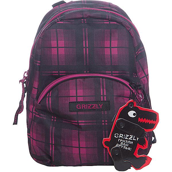 Рюкзак школьный Grizzly, клетка фуксияРюкзаки<br>Рюкзак молодежный, одно отделение, объемный карман на молнии на передней стенке, внутренний подвесной карман на молнии, укрепленная спинка, дополнительная ручка-петля, укрепленные лямки<br><br>Ширина мм: 220<br>Глубина мм: 150<br>Высота мм: 320<br>Вес г: 400<br>Возраст от месяцев: 72<br>Возраст до месяцев: 2147483647<br>Пол: Женский<br>Возраст: Детский<br>SKU: 6939831