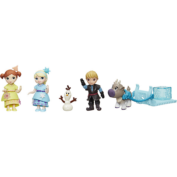 Набор героев Холодное сердце, HasbroИгровые наборы с фигурками<br>Характеристики товара:<br><br>• возраст: от 4 лет;<br>• материал: пластик;<br>• в комплекте: 5 фигурок;<br>• размер упаковки: 30,5х25х5,7 см;<br>• вес упаковки: 204 гр.;<br>• страна производитель: Китай.<br><br>Набор героев «Холодное сердце» Hasbro включает в себя любимых персонажей известного мультфильма Дисней — принцесс Эльзу и Анну, смешного снеговичка Олафа, Кристофа и его верного оленя Свена с повозкой.<br><br>Набор героев «Холодное сердце» Hasbro можно приобрести в нашем интернет-магазине.<br><br>Ширина мм: 57<br>Глубина мм: 305<br>Высота мм: 254<br>Вес г: 204<br>Возраст от месяцев: 48<br>Возраст до месяцев: 2147483647<br>Пол: Женский<br>Возраст: Детский<br>SKU: 6943660