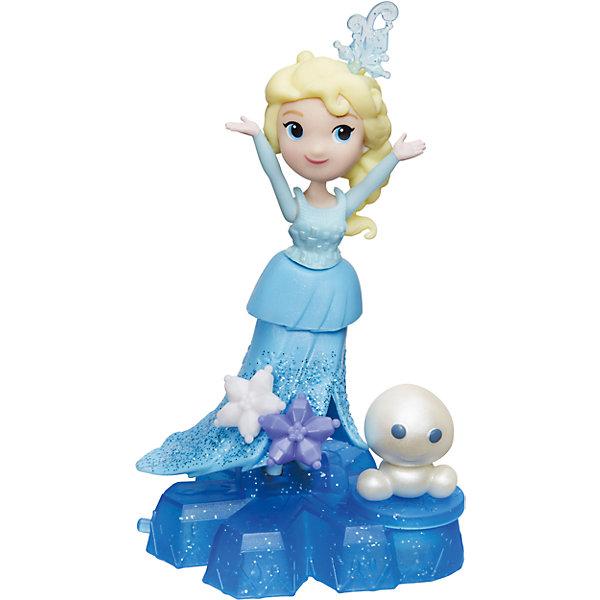 Маленькая кукла Холодное Сердце, HasbroХолодное Сердце Игрушки и пазлы<br>Характеристики товара:<br><br>• возраст: от 4 лет;<br>• материал: пластик;<br>• в комплекте: кукла, аксессуары;<br>• высота кукла: 7,5 см;<br>• размер упаковки: 17,8х15,2х4,4 см;<br>• вес упаковки: 92 гр.;<br>• страна производитель: Китай.<br><br>Маленькая кукла «Холодное сердце» Hasbro представляет собой героиню известного мультфильма Дисней принцессу Эльзу. Куколка стоит на необычной платформе-снежинке. Пока снежинка движется по поверхности, снеговички на снежинке вращаются. <br><br>Маленькую куклу «Холодное сердце» Hasbro можно приобрести в нашем интернет-магазине.<br>Ширина мм: 44; Глубина мм: 178; Высота мм: 178; Вес г: 92; Возраст от месяцев: 48; Возраст до месяцев: 2147483647; Пол: Женский; Возраст: Детский; SKU: 6943662;