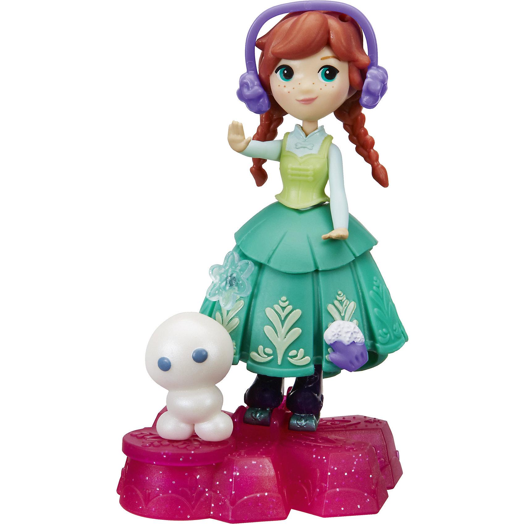 Маленькая кукла Холодное Сердце, HasbroМини-куклы<br><br><br>Ширина мм: 44<br>Глубина мм: 178<br>Высота мм: 178<br>Вес г: 92<br>Возраст от месяцев: 48<br>Возраст до месяцев: 2147483647<br>Пол: Женский<br>Возраст: Детский<br>SKU: 6943663