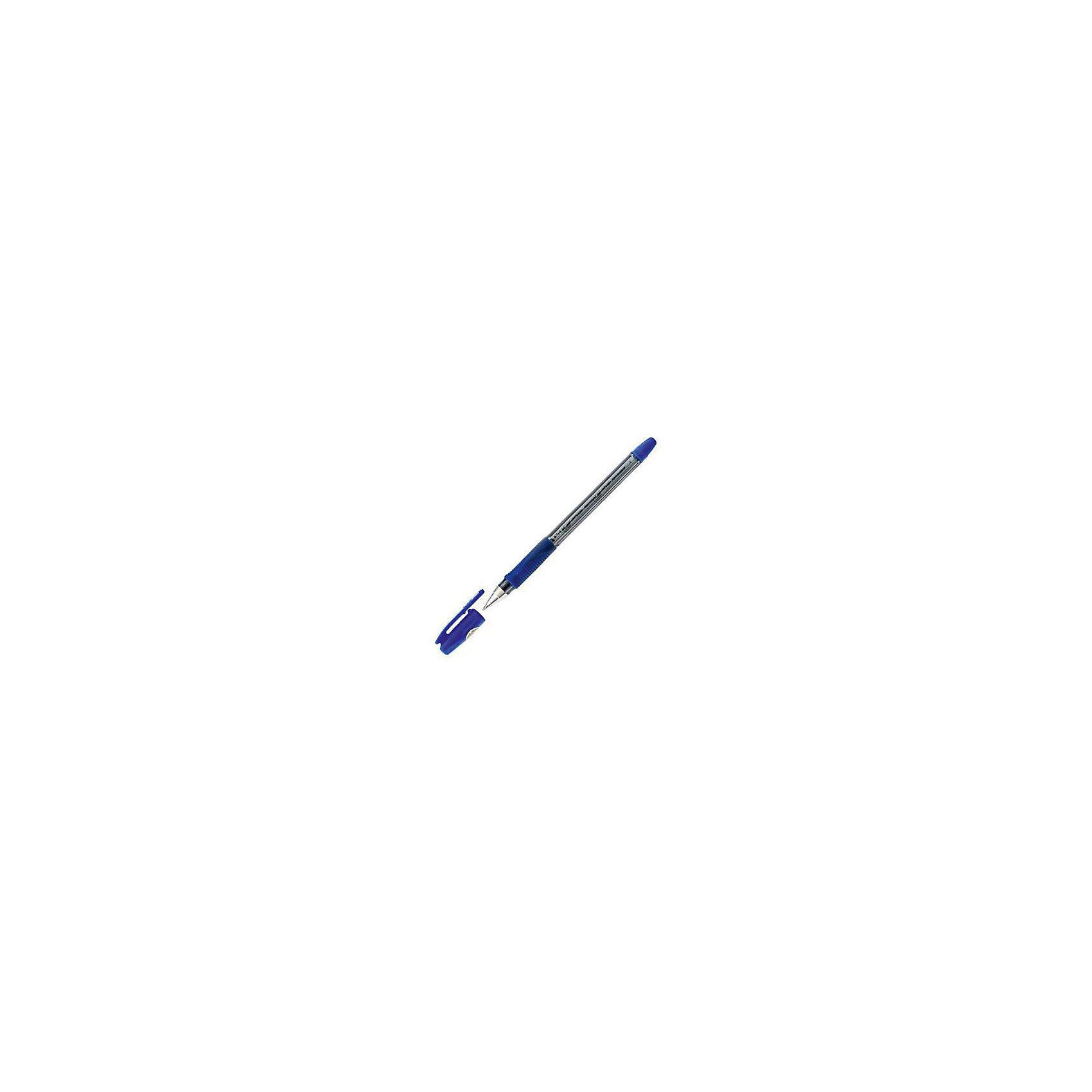 Ручка шариковая Pilot Bps-gp-medium, синяяПисьменные принадлежности<br>Прозрачный пластиковый корпус с резиновым упором для пальцев. Металлический наконечник. Чернила на масляной основе. Цвет колпачка и резиновой накладки соответствует цвету чернил. Диаметр шарика - 1,0 мм, Толщина линии - 0,4 мм. Цвет чернил - синий<br><br>Ширина мм: 50<br>Глубина мм: 10<br>Высота мм: 190<br>Вес г: 20<br>Возраст от месяцев: 36<br>Возраст до месяцев: 2147483647<br>Пол: Унисекс<br>Возраст: Детский<br>SKU: 6943783